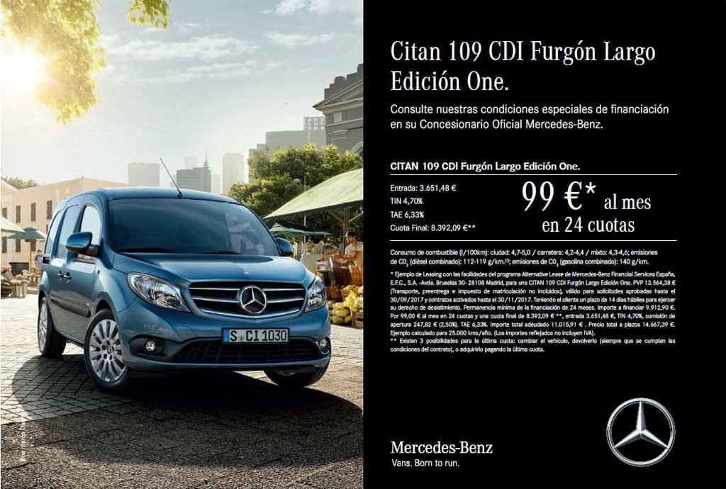 Oferta Mercedes Benz Citan