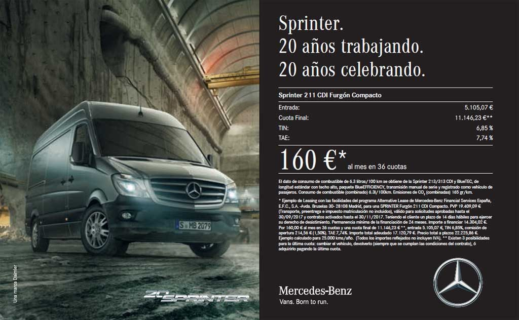 Oferta Mercedes Benz Sprinter 2017