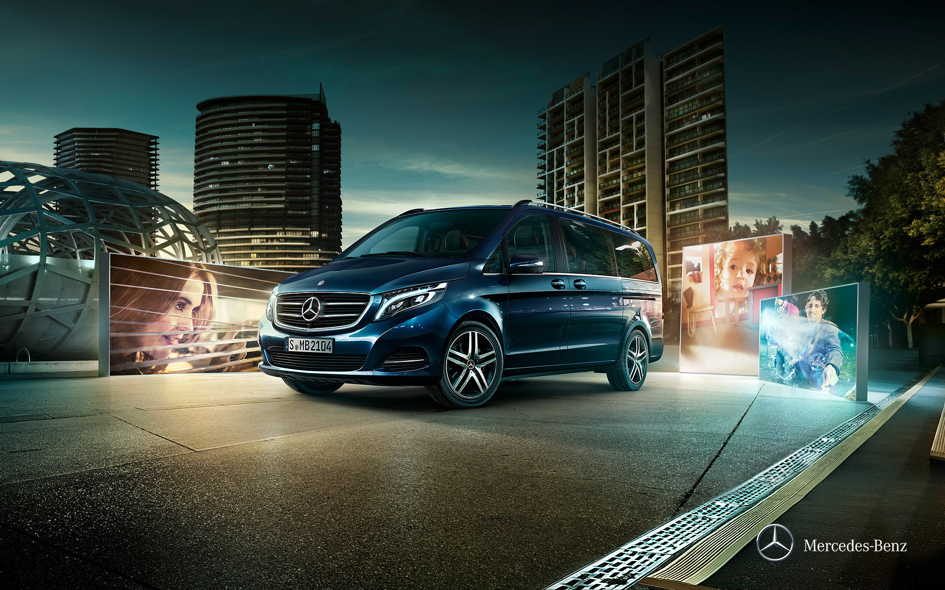 Mercedes-Benz Clase V - Portada