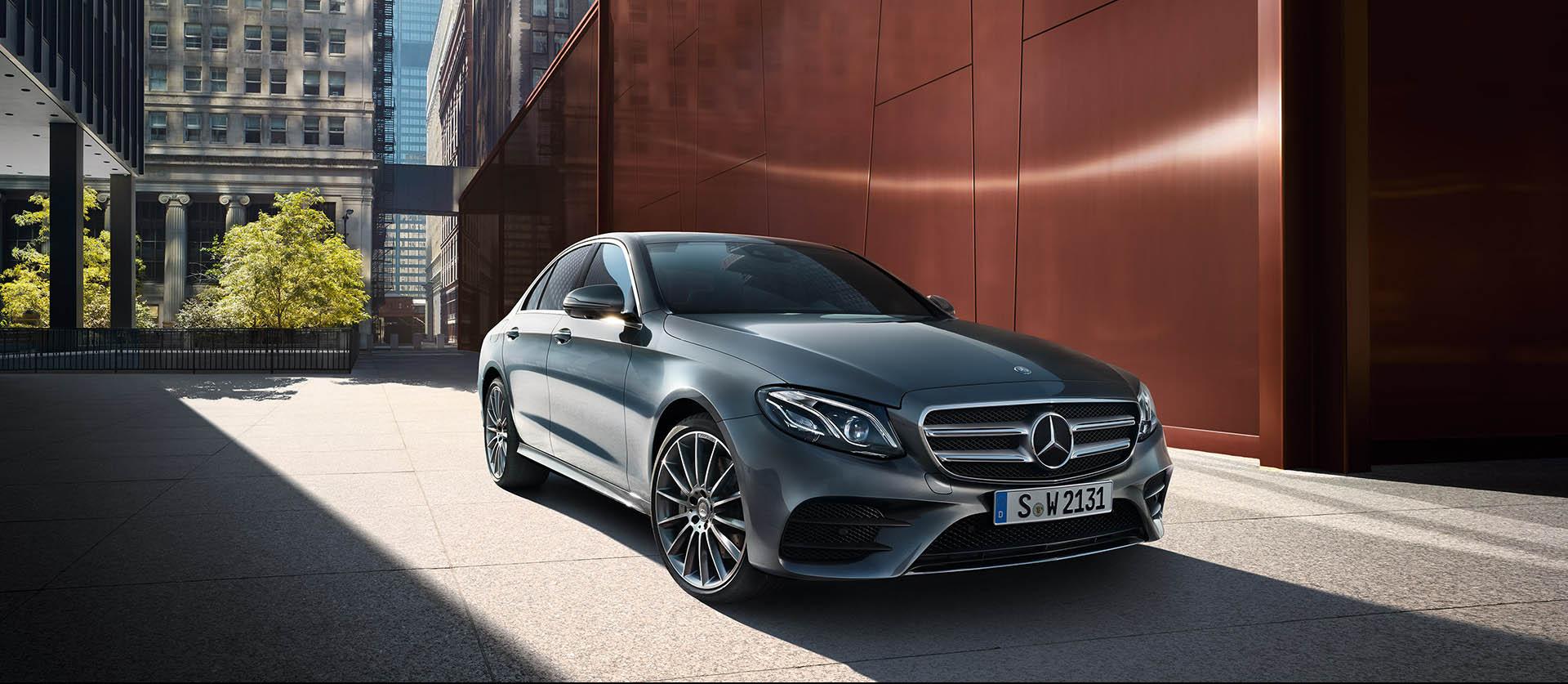 Mercedes Benz Clase E - Portada