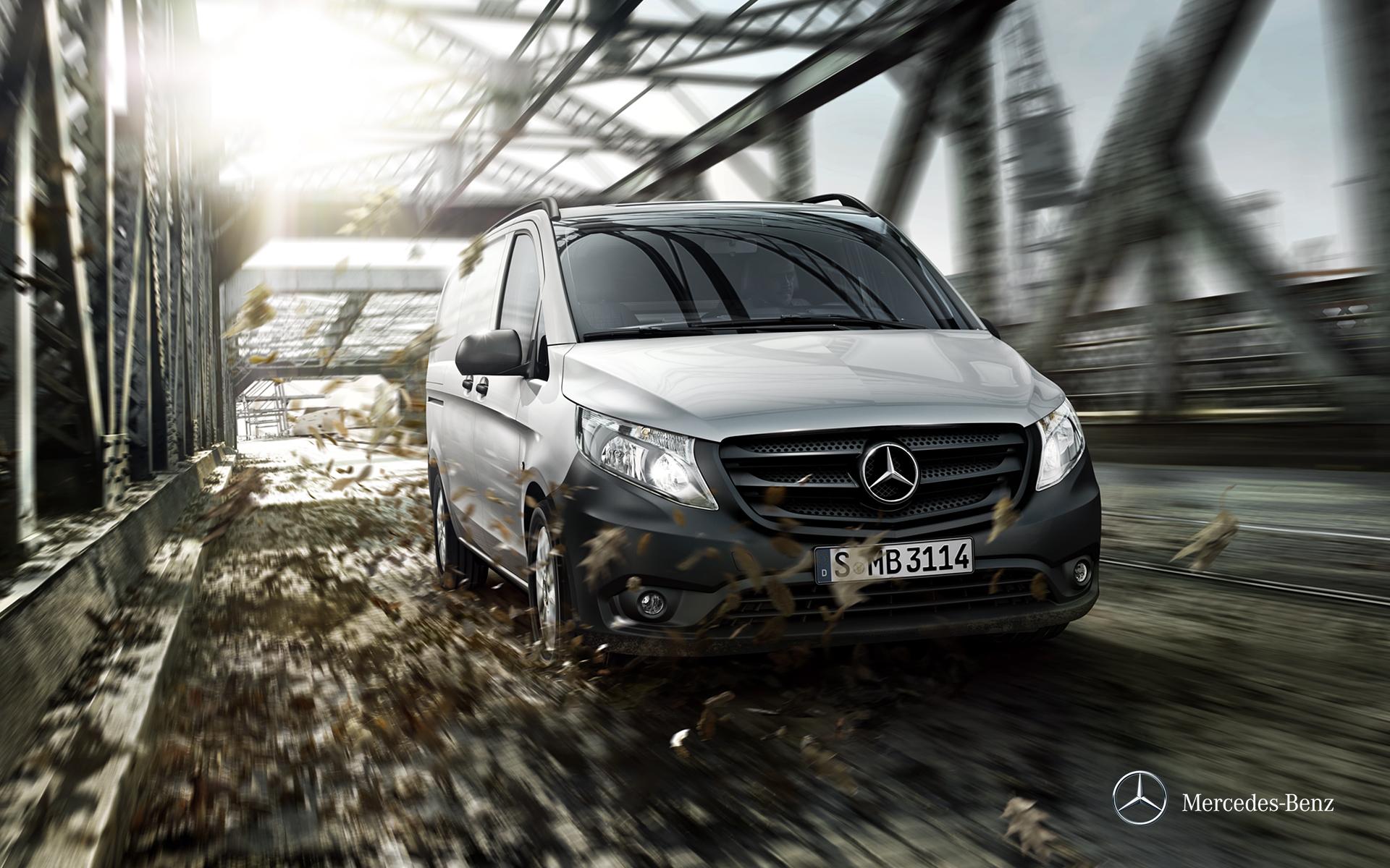 Mercedes-Benz Vito Furgon - Portada