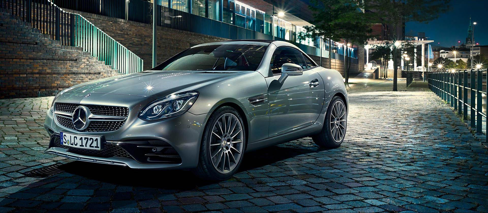 Mercedes Benz Clase SLC - Portada