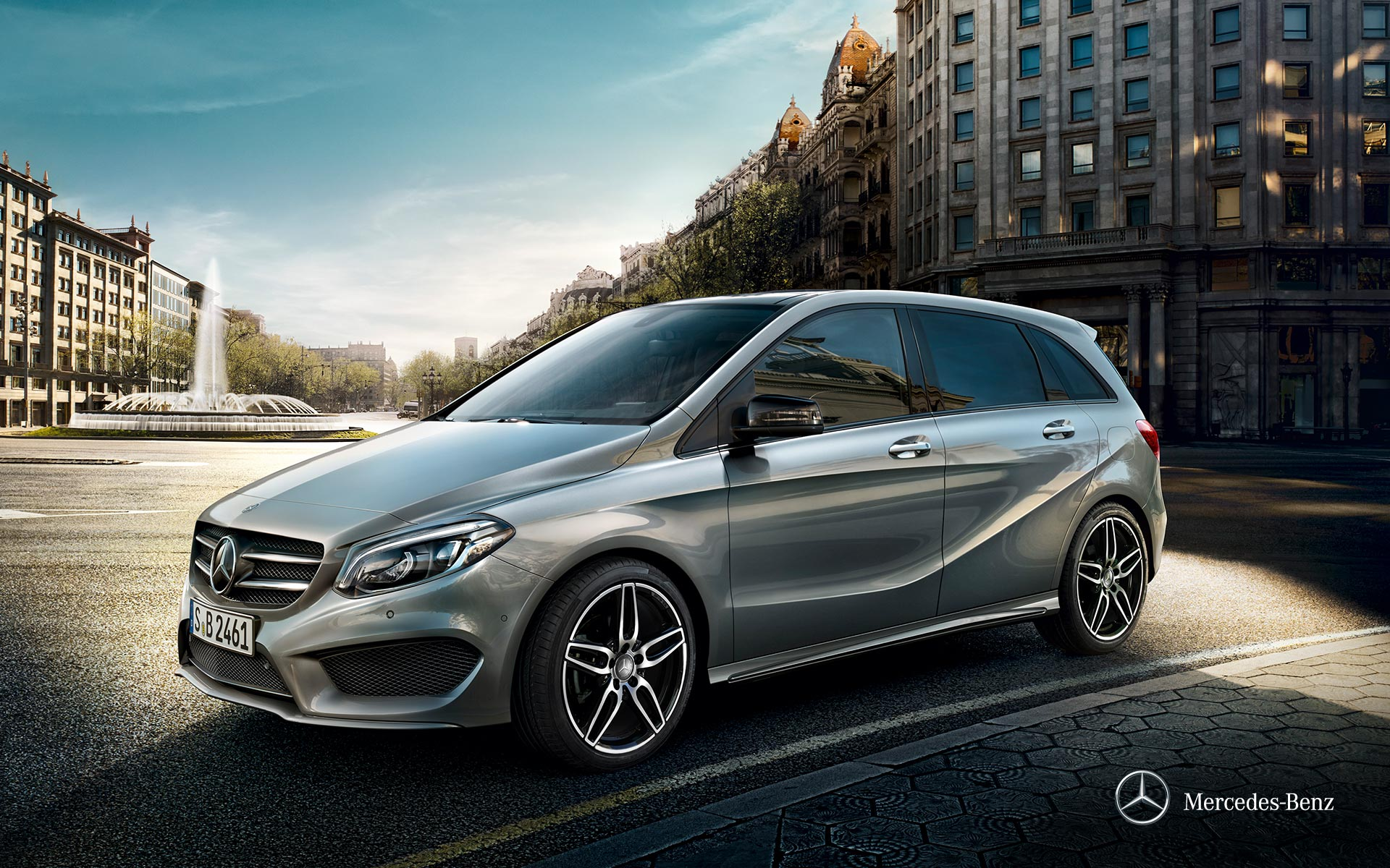 Mercedes-Benz Clase B – Sports Tourer – Portada