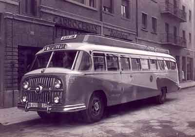 Autobús transportes historia AGREDA AUTOMOVIL