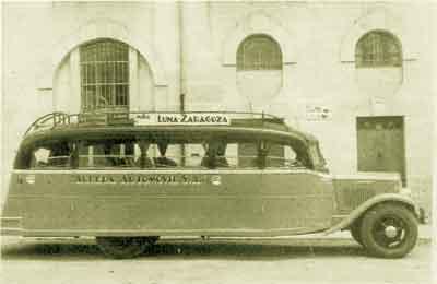 Autobús autobús historia AGREDA AUTOMOVIL