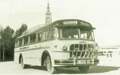 Autobús antiguo AGREDA AUTOMOVIL