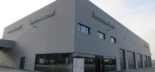 Concesionario y Taller Mercedes-Benz Industriales Lleida