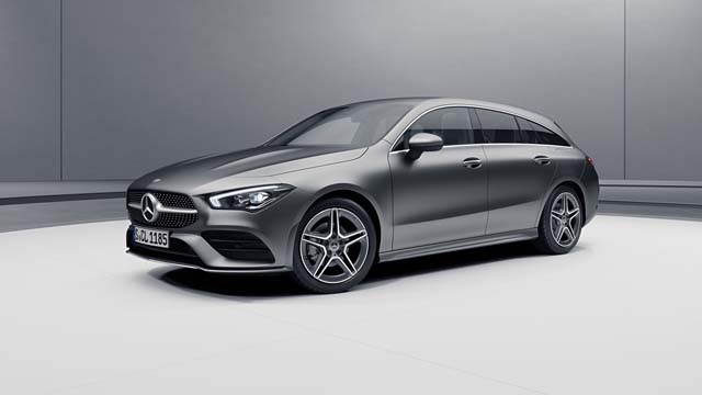 Colores disponibles en stock CLA Shooting Brake