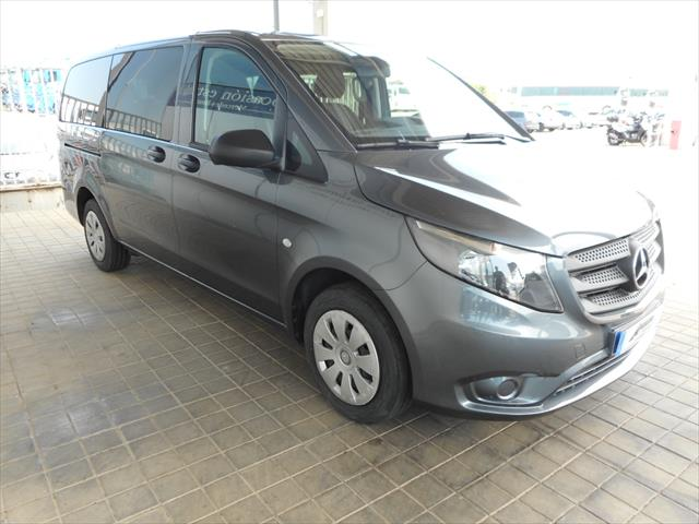 mercedes benz vito 114 cdi tourer pro larga diesel gris pedernal metal del 2016 con km en. Black Bedroom Furniture Sets. Home Design Ideas